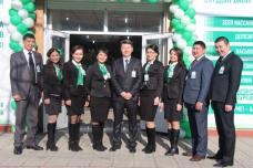 Айыл Банк открывает новый филиал в городе Ош и вручает призы