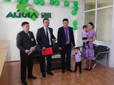 Айыл Банк и Государственная Ипотечная Компания  вручают первые ипотечные кредиты