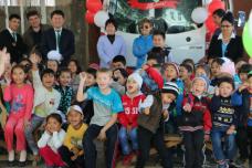 Благотворительный караван «От Лейлека до Ак-Суу» в Ошской области