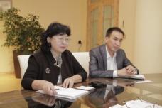 Руководство ОАО «Айыл Банк» встретилось с руководством Росагролизинг.