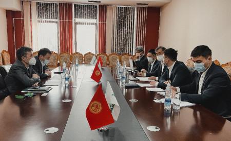 Представители ОАО «Айыл Банк» провели встречу с исследовательской группой JICA