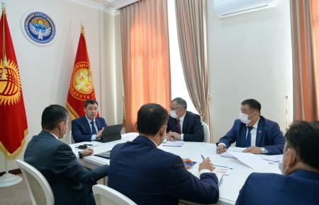 Президент принял председателей «Айыл Банка», «РСК Банка» и «Гарантийного фонда»