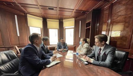Состоялась встреча ОАО «Айыл Банк» и Евразийского фонда стабилизации и развития