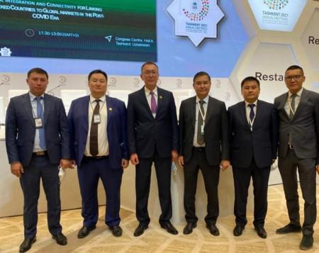 Председатель Правления «ОАО «Айыл Банк» У.Букабаев принял участие на Собрании Управляющих стран-членов Группы Исламского Банка Развития в г. Ташкент, Узбекистан